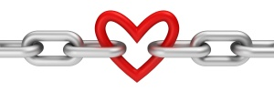 Chain with heart